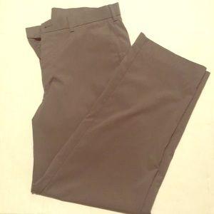 Golf pants 32 x 30 gray athletic slacks grand slam